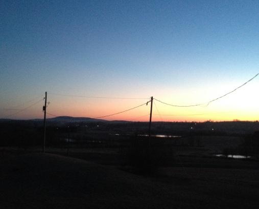 March 28 Pics Sunrise Mt Pisgah
